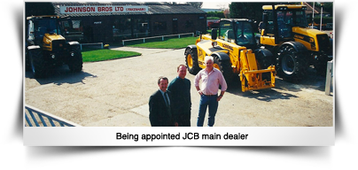 JCB appointed main dealer