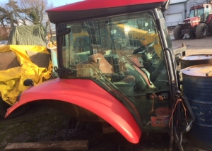 cab for McCormick TTX range