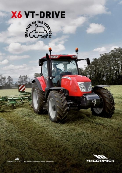 X6 Tractor of the year