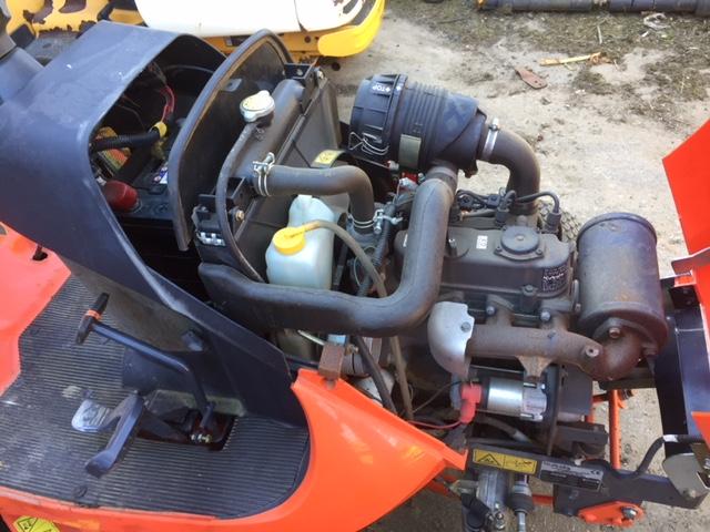 Kubota GR120 mower